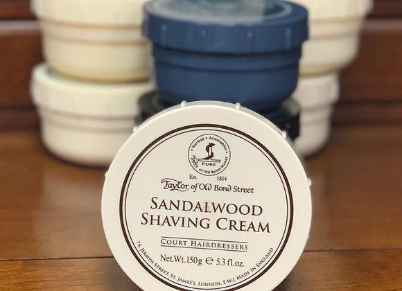 Taylor of Old Bond Street Shave Cream -Sandalwood