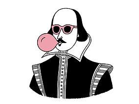Shakespear with gum.jpg