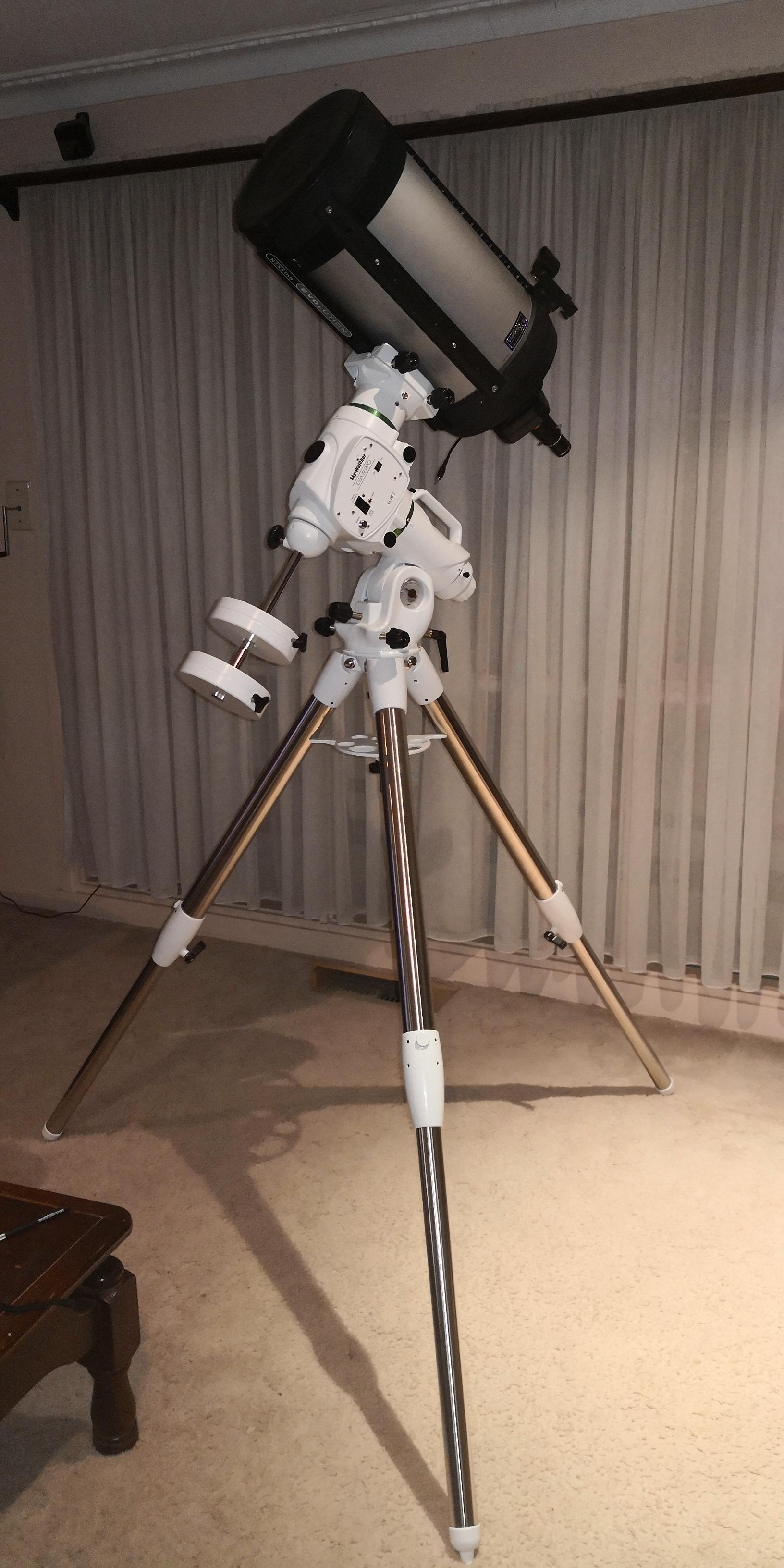My gear 4 New EQ6t Pro mount
