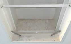 Nettoyage plafond / Avant