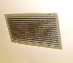 Nettoyage grille diffusion / Avant
