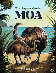 moa childrens book non-fiction picture wildlife for kids nature