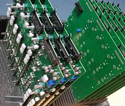 pcb boards soldered