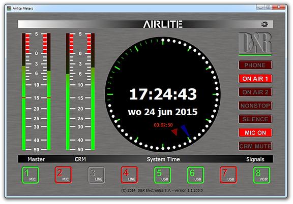 Airlite metering