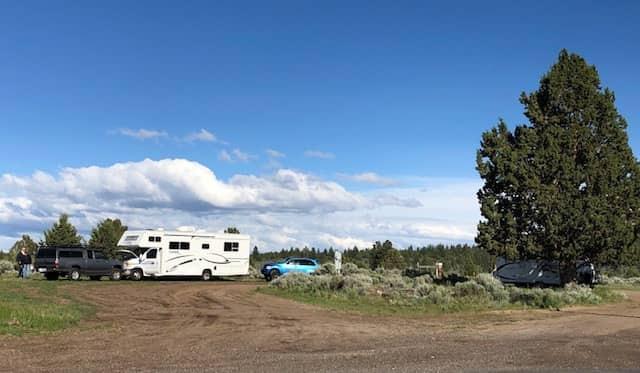Cowboy Dinner Tree Boondock RV Parking