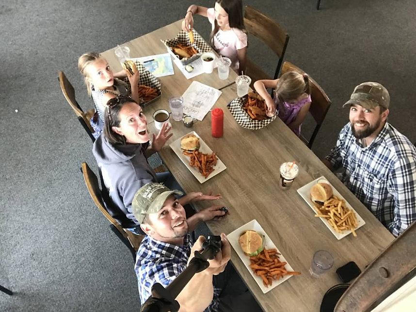 Lakeside Restaurant Customers | Christma