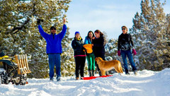 Winter Adventures in Christmas Valley, OR