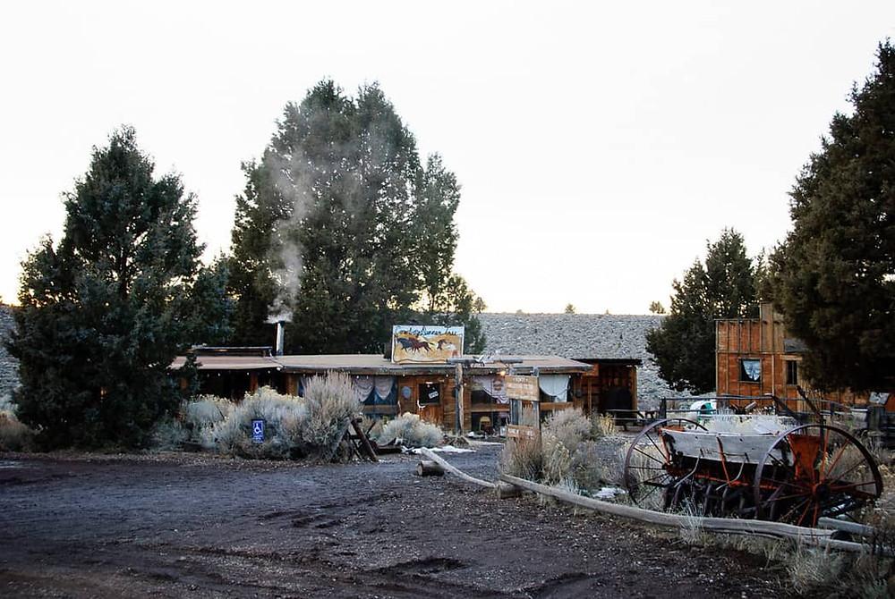 Cowboy Dinner Tree Restaurant Exterior