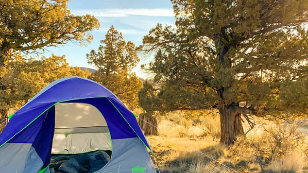 Camping in in Christmas Valley, OR