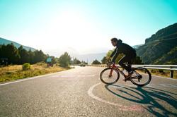 Bike ride in casuals