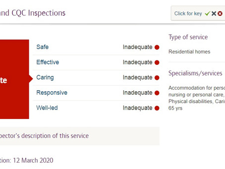 CQC refuses to say if known unsafe care homes have been at the centre of Covid-19 outbreaks.