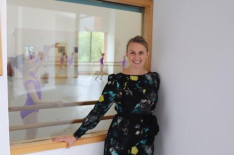 Jessica Ward, Principal of Elmhurst Ball