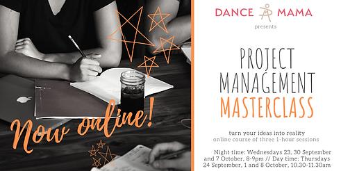 DM project management masterclass online