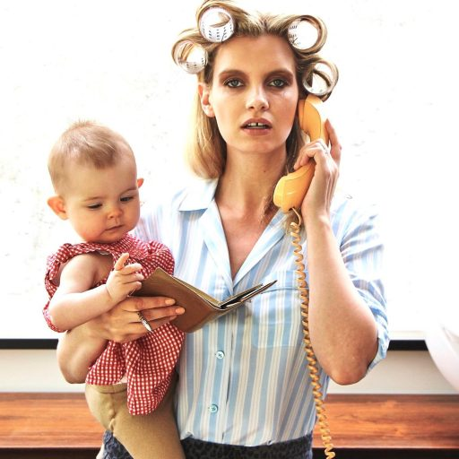 Ruth Crilly - Model Mama