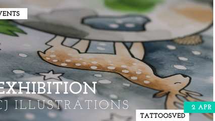 EXHIBITION: CJ ILLUSTRATIONS