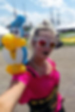 Balloon Twisting Amanda