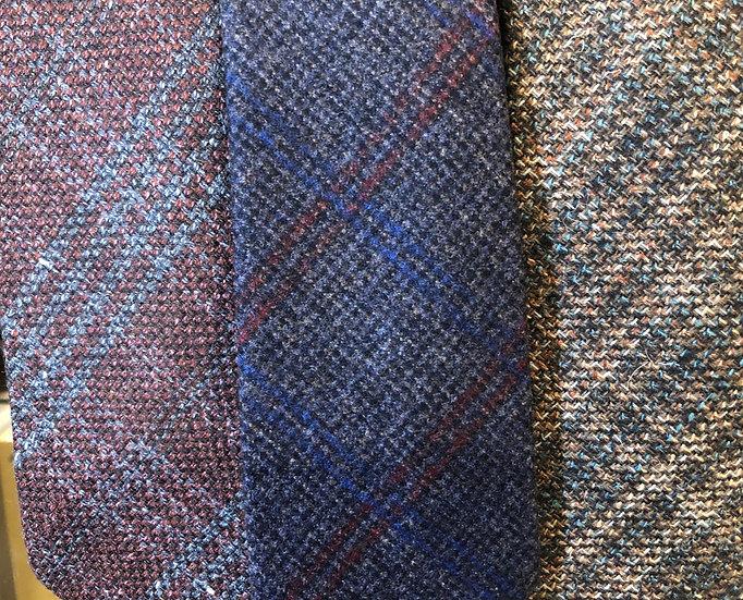 Cravatte artigianali 100% lana