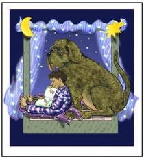 Big Dog Blue Night