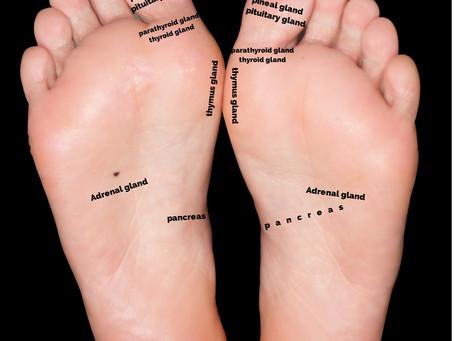 Balance your hormones via your feet - from havoc to harmony