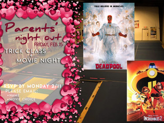Movie Night !  Friday, 2/15/19