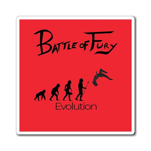 Evolution of Fury   Black/Red Magnet