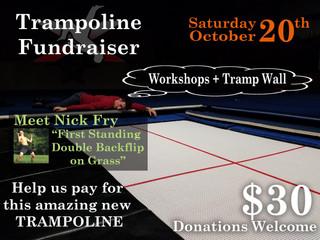 Trampoline Fundraiser THIS SATURDAY