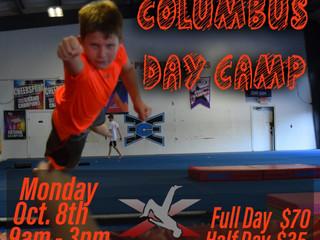 Columbus Day Camp | Monday October 8
