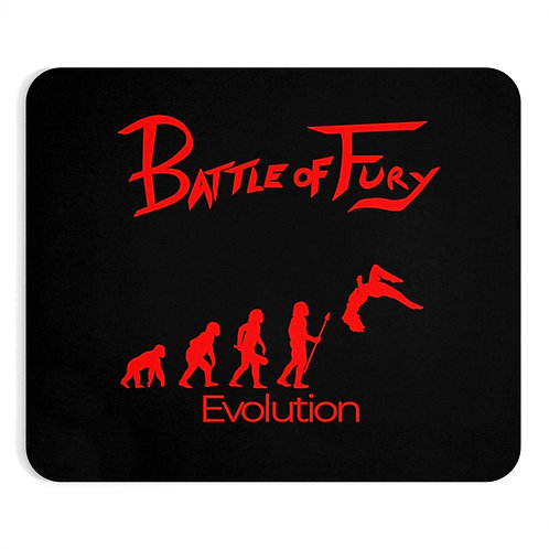 Evolution - Battle of Fury Mouse Pad