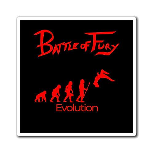 Evolution of Fury | Red/Black Magnet