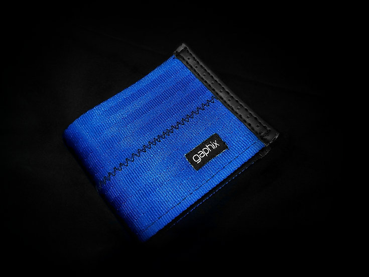 Blue 2-Tone Wallet