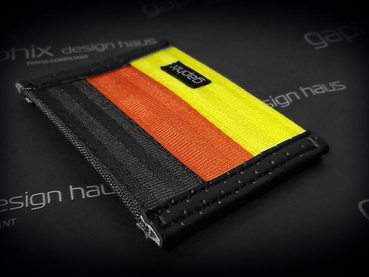 Slim German Theme Wallet