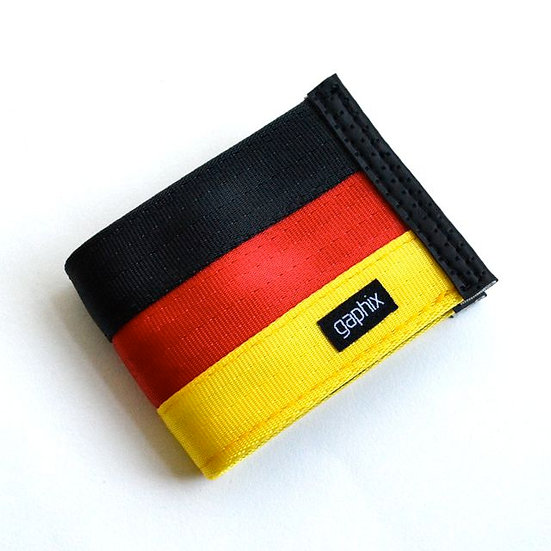 German Theme 3-Tone Wallet