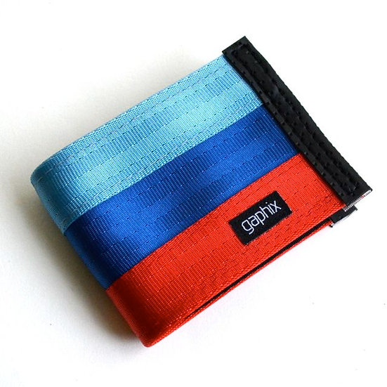 Motorsport Modern Theme 3-Tone Wallet