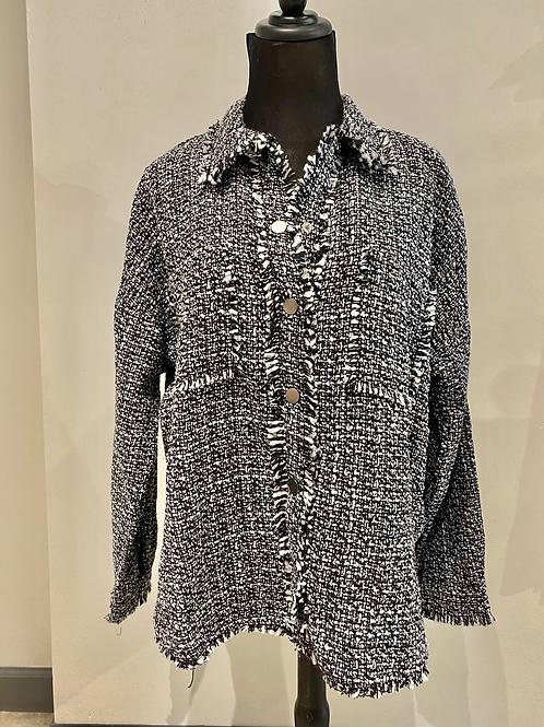 Tweed shacket SS 4709