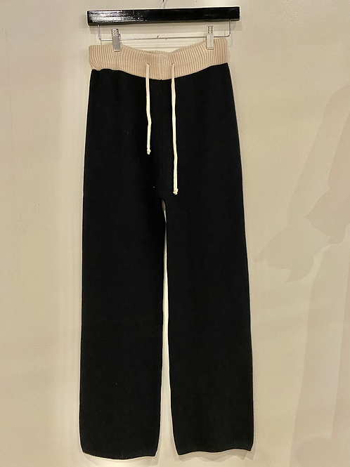 Wide leg sweater pant T15075