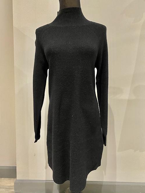 Mock turtleneck dress 3846