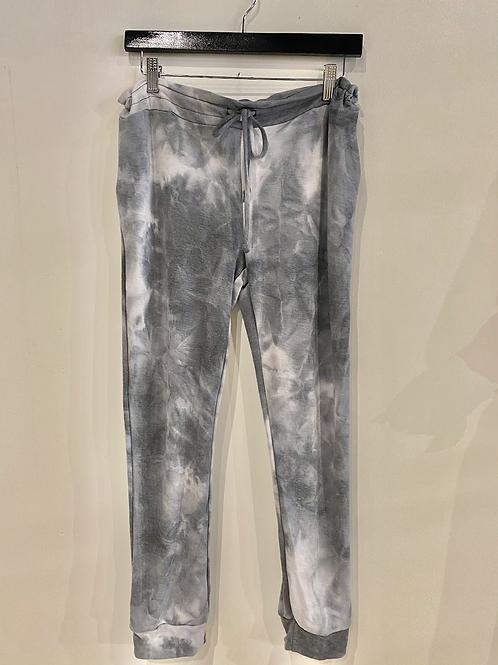 Tie dye drawstring jogger SP1017