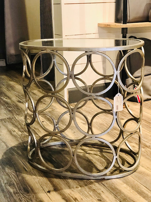 BRIGHT CIRCLE SIDE TABLE