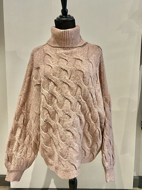 Cable sweater WL19-2889