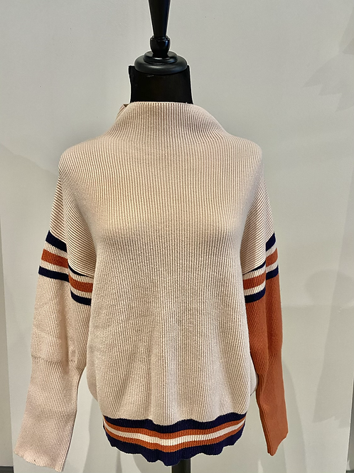 Striped sweater TMK1104