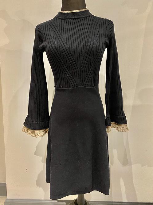 Trimmed sweater dress TMK117