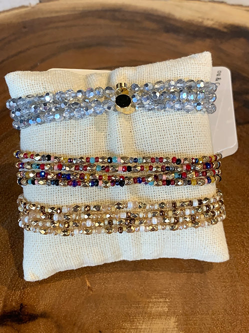 SMALL CRYSTAL STRETCH BRACELETS
