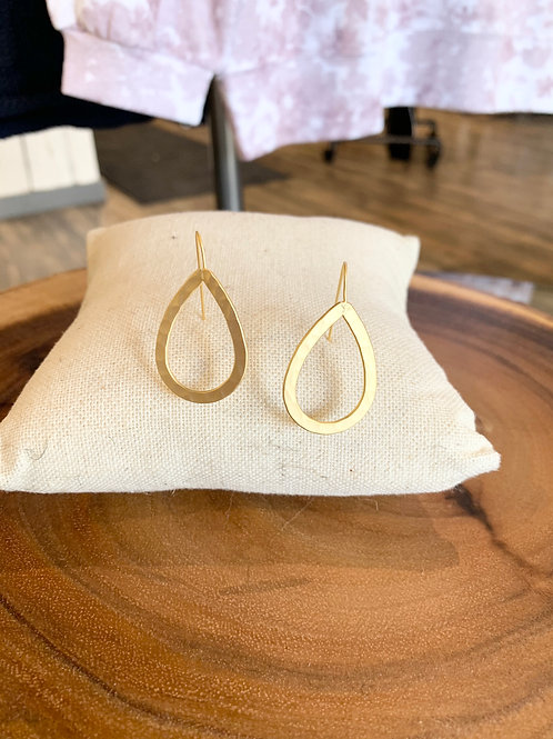 HAMMERED TEARDROP