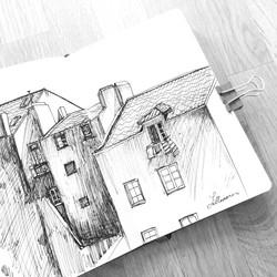 Building in ink.