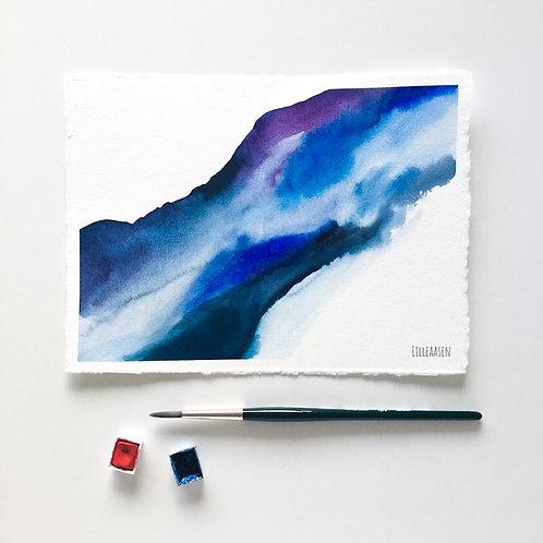 Deep Mountain - Original painting