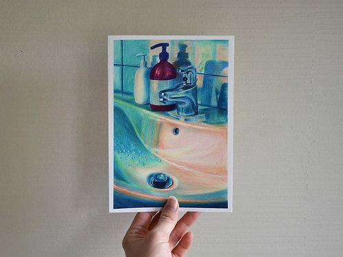 """""""Hygiene"""" Art poster A5"""