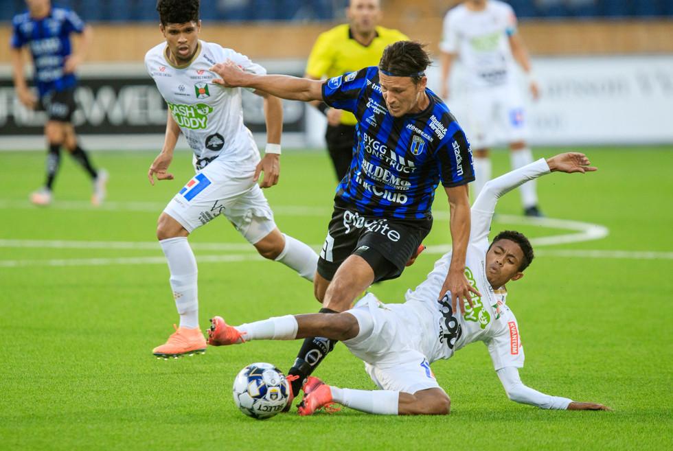 Fotboll Sirius-Varberg, TT 2020.
