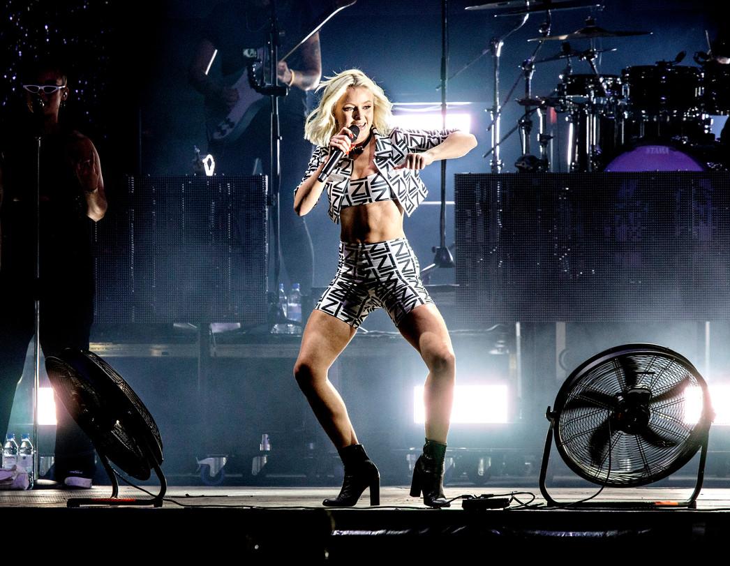 """Zara Larsson, """"Queens of pop"""" UNT 2019."""