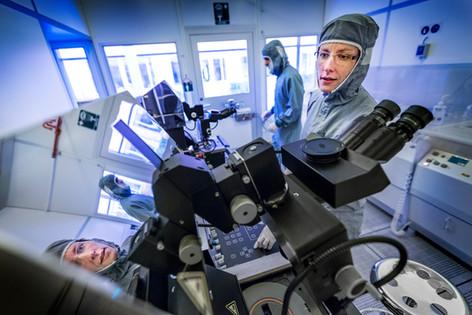 Forskare på Ångströmlaboratoriet, UNT 2017.