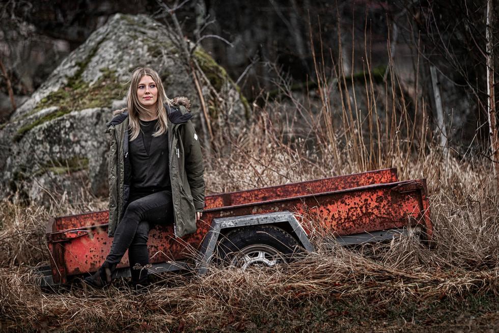 Elitgymnasten Lina Sjöberg, UNT 2020.